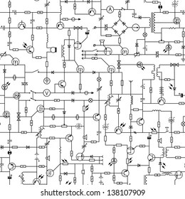 Symbol Circuit Electric Stock Illustrations, Images