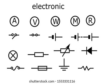 Electricity Diagram Symbols