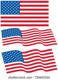waved flag images stock