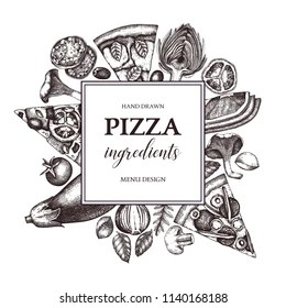 Pizza Margherita Stock Vectors, Images & Vector Art