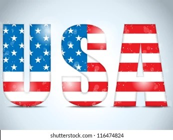 Usa Letters Images Stock Photos Amp Vectors Shutterstock