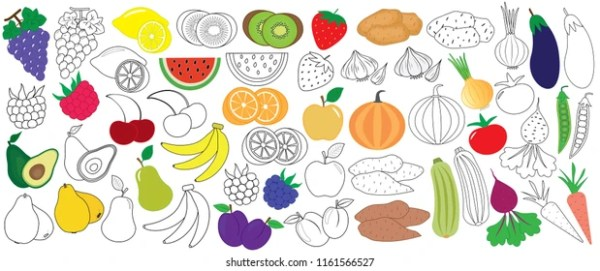 fruits coloring pages # 78