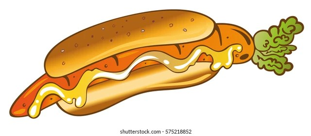 Chili Dog Clip Art Funny