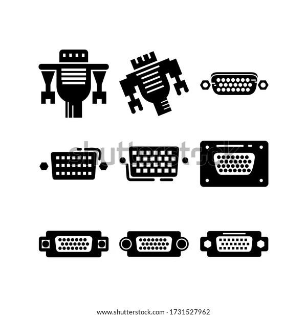 Vga Connector Symbol