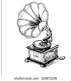 Old Record Player Images, Stock Photos & Vectors