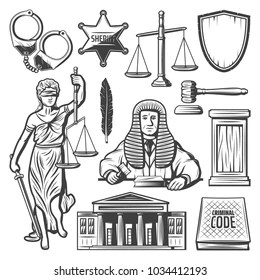 Gavel And Book Stock Vectors, Images & Vector Art