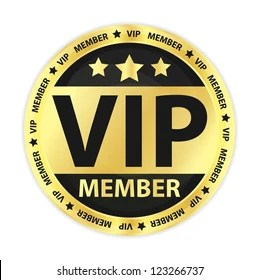 vip badges images stock