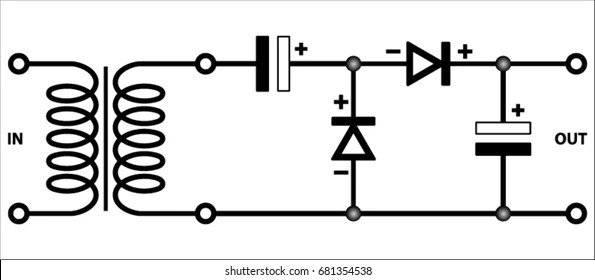 Rectifier Circuits Images, Stock Photos & Vectors