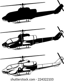 Military Helicopter Images, Stock Photos & Vectors