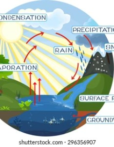 The water cycle also images stock photos  vectors shutterstock rh