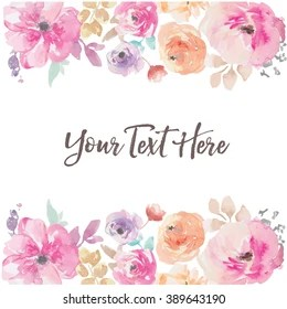 watercolor flower background images
