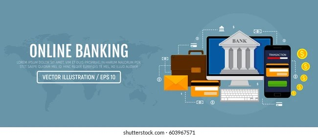 Web Concept Online Banking Modern Banner Stock Vector Royalty Free 603967571