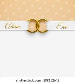 https www shutterstock com image vector wedding background rings eps 10 209152642