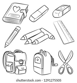 Classroom Supplies Stock Vectors, Images & Vector Art