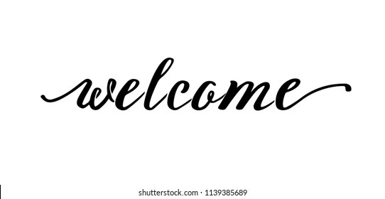 Welcome to the Team Sign Stock Illustrations, Images