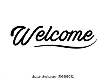 Welcome Handwriting Images, Stock Photos & Vectors