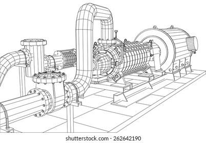 Motor Eléctrico Imágenes, fotos y vectores de stock