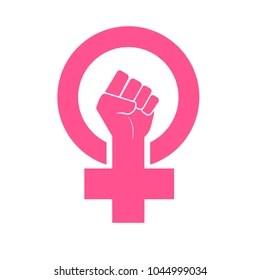 feminist symbol images stock