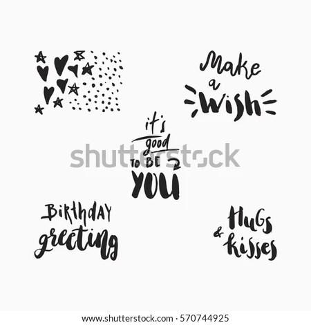 Wonderful Handwritten Birthday Wishes Amazing Greeting
