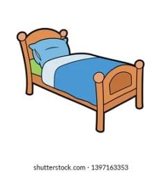 Cartoon Bed Images Stock Photos & Vectors Shutterstock