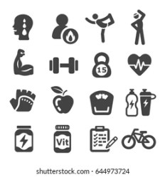 Exercise Icons Free Download PNG and SVG