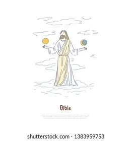 Biblical Creation Images, Stock Photos & Vectors