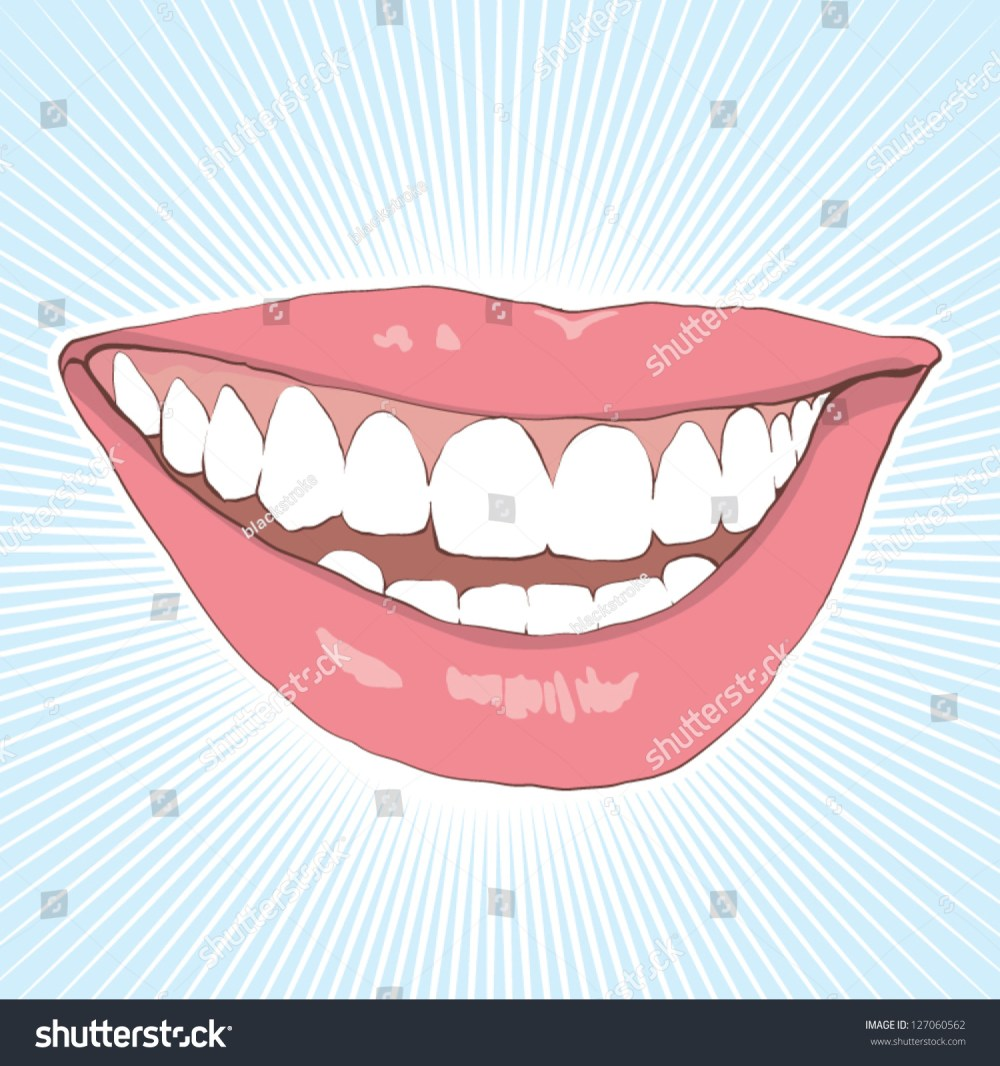 medium resolution of shiny teeth 127060562