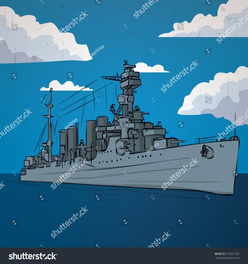small resolution of russian warship since the world war 2 hand drawn vector illustration