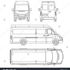 Car Damage Inspection Diagram Sub Zero Refrigerator Parts Royalty Free Template White Blank Commercial