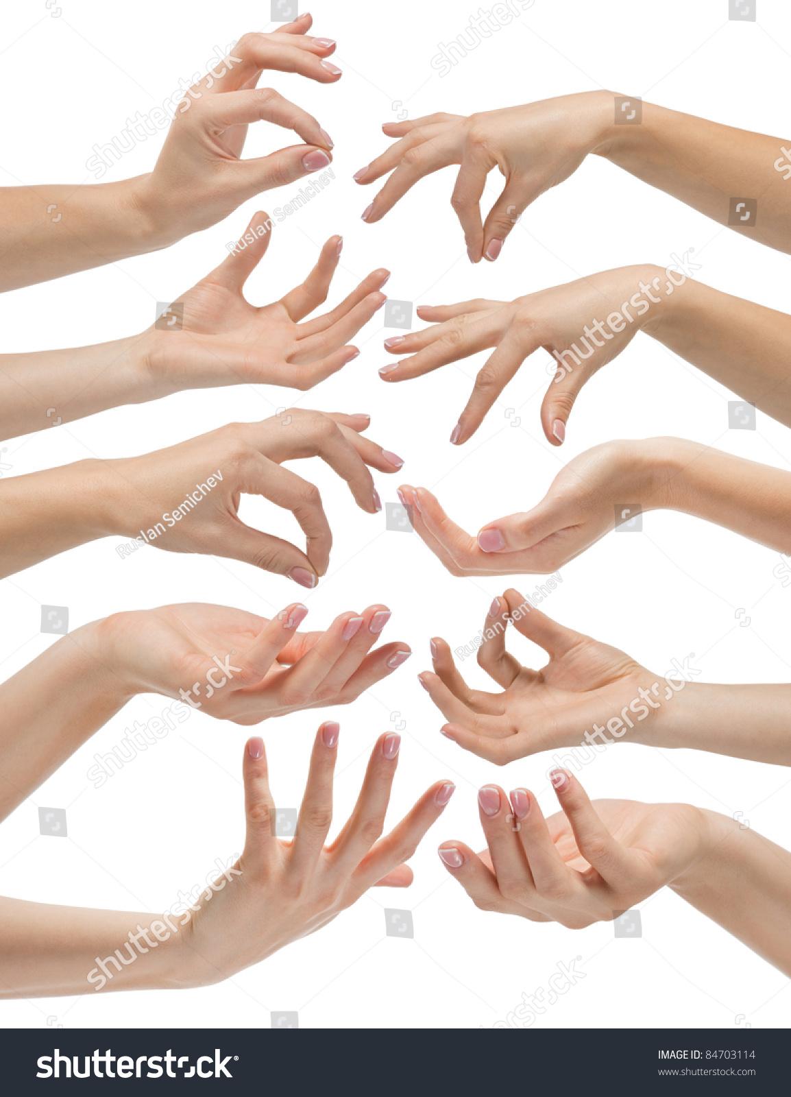hand gestures set n