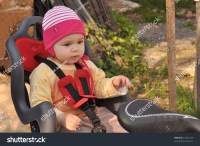 Baby In Bicycle Chair Stock Photo 51224167 : Shutterstock