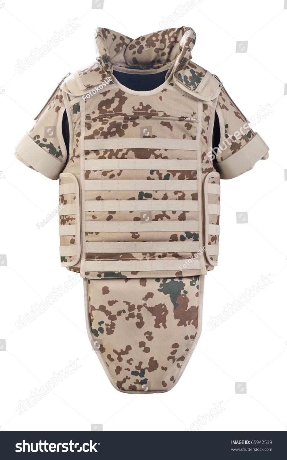 Bulletproof Vest Stock Photo 65942539 : Shutterstock