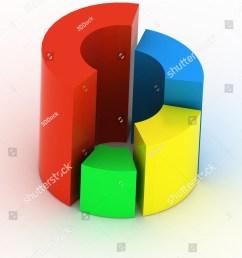 3d circular diagram on white background [ 1125 x 1600 Pixel ]