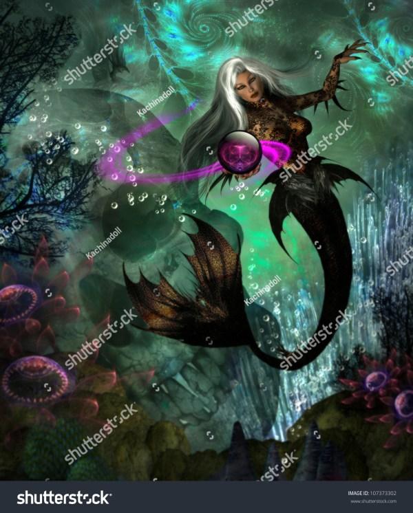 Beautiful Evil Mermaids
