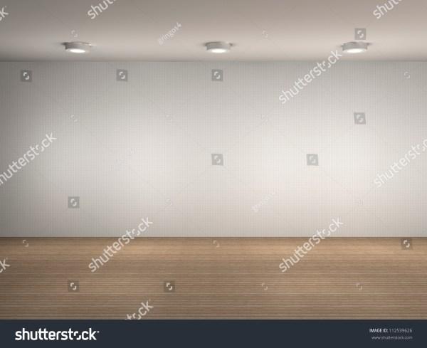 3d Illustration Of Empty Wall - 112539626