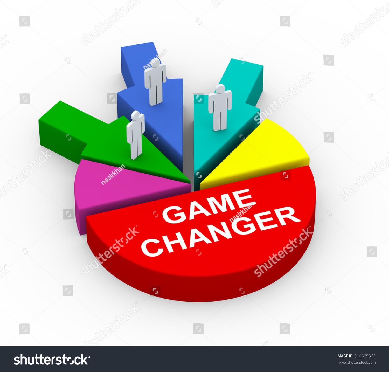 3d Render People On Game Changer Stock Illustration 510665362 - Shutterstock