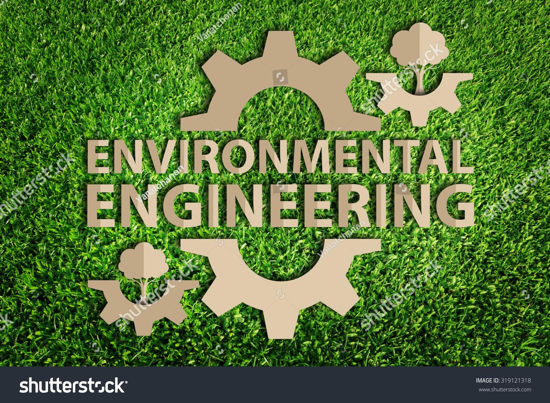 Environmental Engineering Concept Paper Cut Eco Stock Illustration 319121318 - Shutterstock