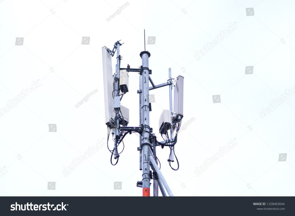 medium resolution of 3g 4g and 5g cell site base station or base transceiver station cell tower or telecommunication tower wireless communication antenna transmitter