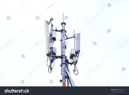 small resolution of 3g 4g and 5g cell site base station or base transceiver station cell tower or telecommunication tower wireless communication antenna transmitter