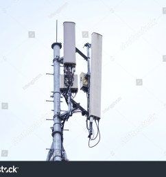 3g 4g and 5g cell site base station or base transceiver station cell [ 1500 x 1101 Pixel ]
