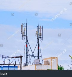 3g 4g and 5g cell site telecommunication tower radio tower or mobile phone [ 1500 x 1101 Pixel ]