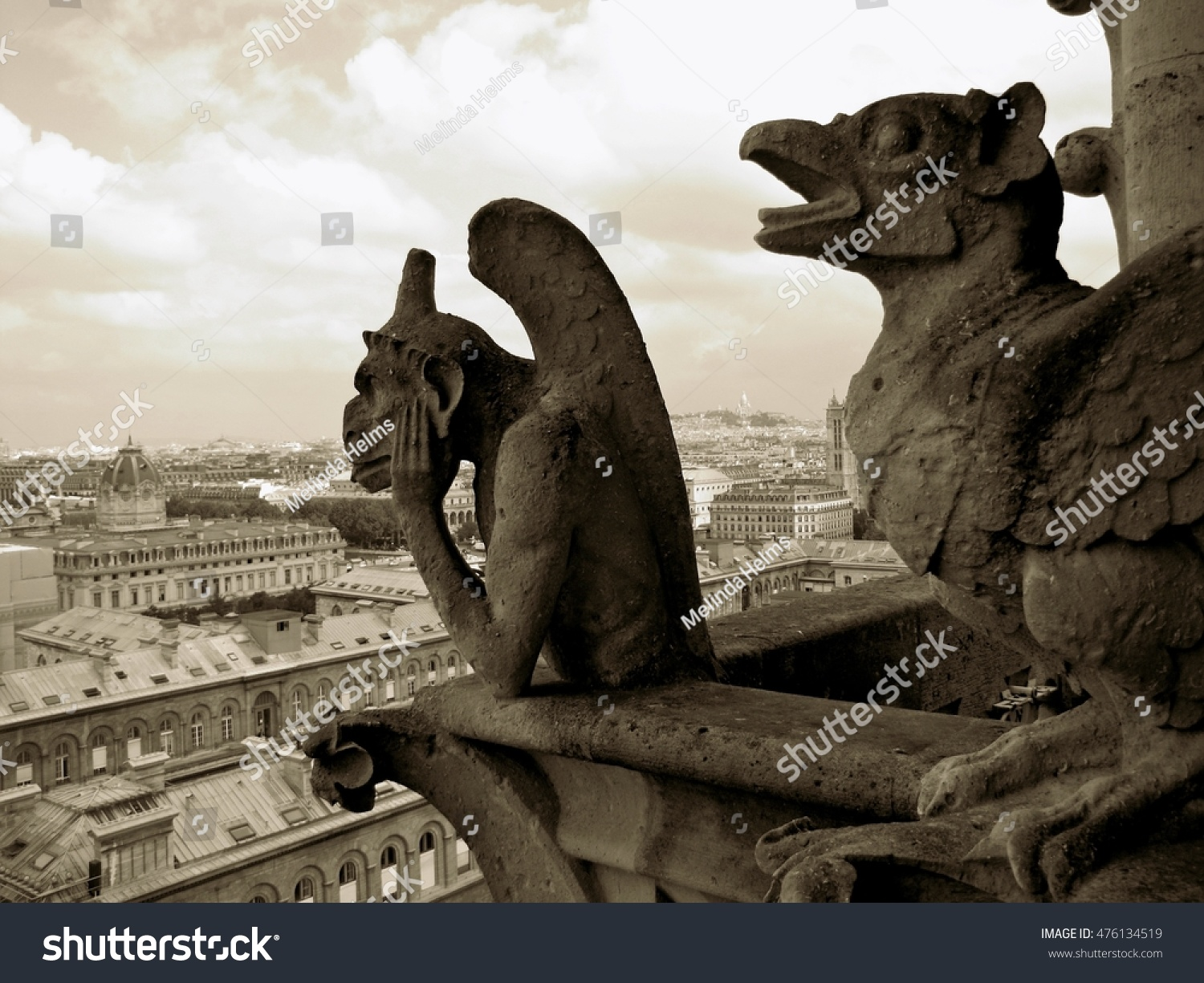 Gargoyles Stock Photo 476134519 : Shutterstock