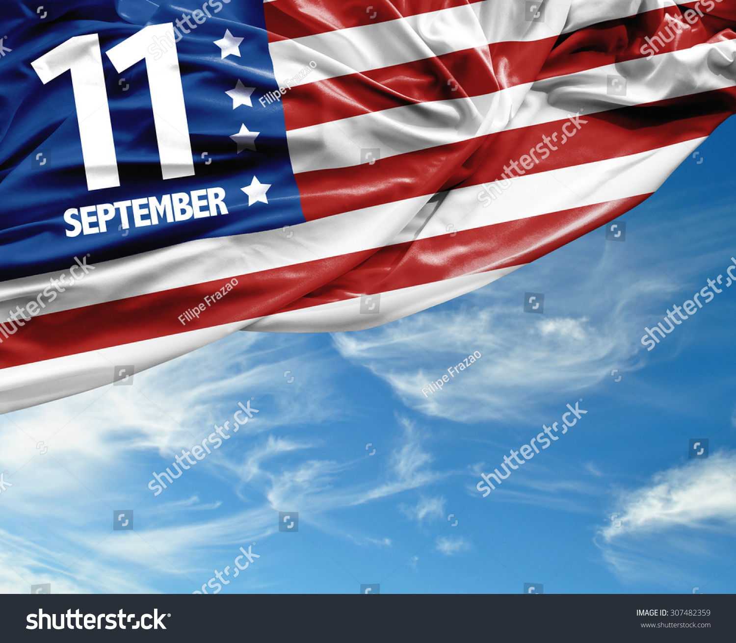 911 Patriot Day September 11 Stock Photo