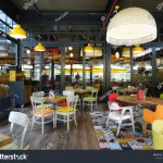 Timboo Cafe Restaurant Colorful Restaurant Families Stock Photo Edit Now 1439868941