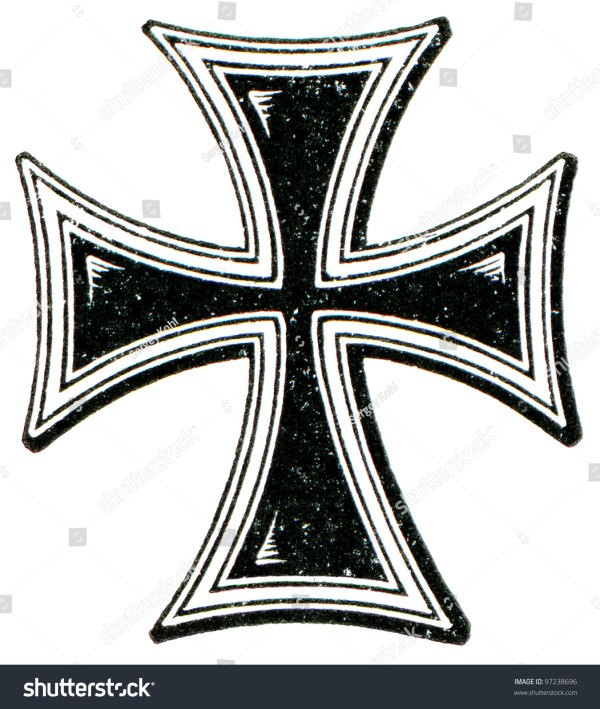 A Cross Of The Teutonic Order The Roman Catholic Church