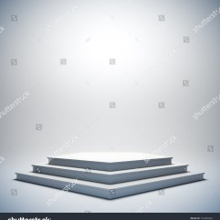 Blank Theatre Stage Diagram What Do The Lines Represent In An Electric Field 3d Illustration Template Layout White Stock