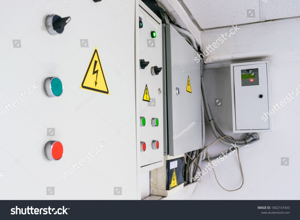 medium resolution of a few fuse boxes are installed on the wall in the basement high voltage electrical