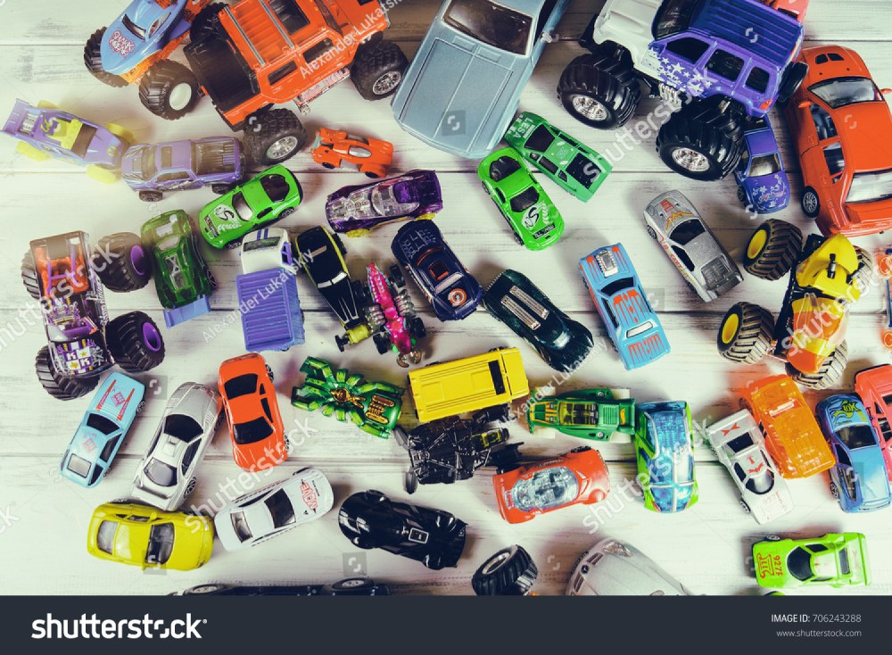 medium resolution of a lot of toy cars
