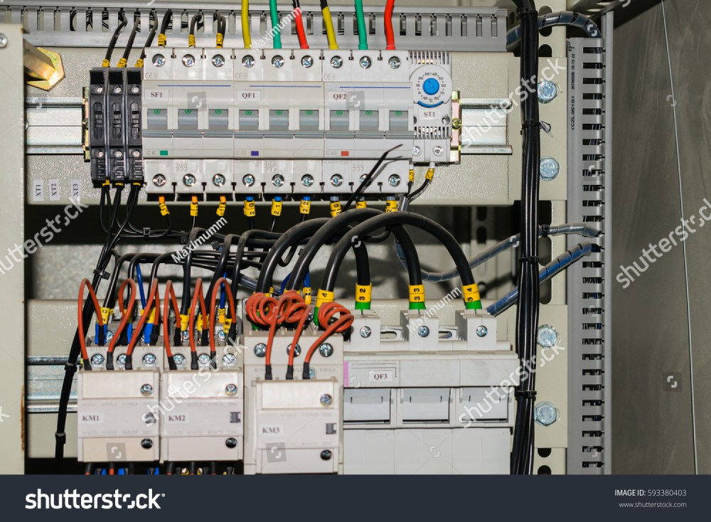 medium resolution of a lot of wires and switches are in electric box electrical isolation rell
