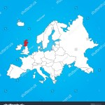 Map Europe Selected Country Scotland Stock Illustration 222625324